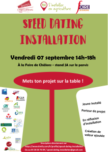 Affiche Speed Datin du 07/09/18